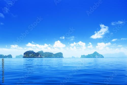 Fototapeta islands in Andaman sea Thailand