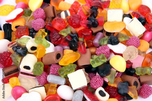 Keuken foto achterwand Snoepjes Fruchtgummi