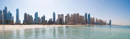 Valokuva  jumeirah beach panorama