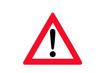 Verkehrszeichen: Gefahrstelle