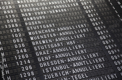 Poster Aeroport Airport timeboard