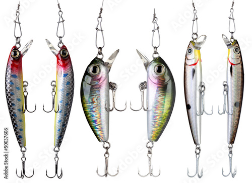 Fotografía  Fishing baits.