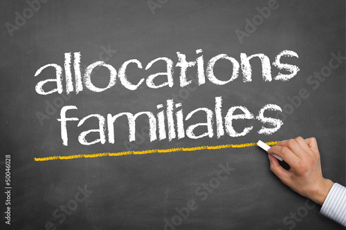 Fotografia  allocations familiales