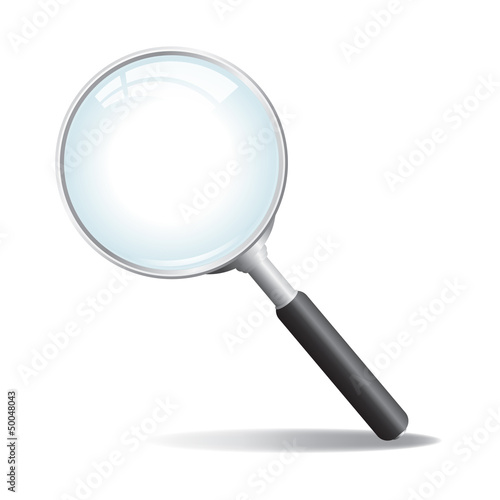 Fotografie, Tablou  Vector Magnifying Glass
