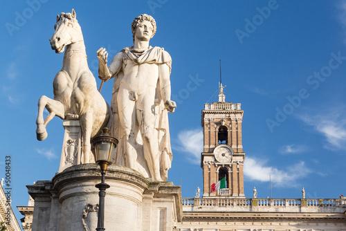 Staande foto Rome Comune di Roma town hall