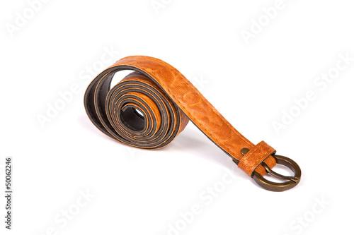 Fotografie, Obraz  Leather belt