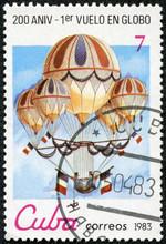 Stamp Printed In Cuba Shows Eu...