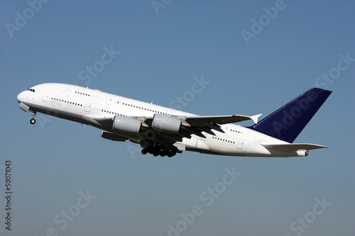 Fotografie, Tablou New super jumbo - Airbus A380