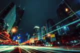 Night car motion in Shenzhen - 50075004