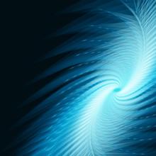 Blue Vortex (vector)