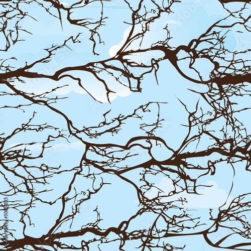 bezszwowy-drzewo-wzor