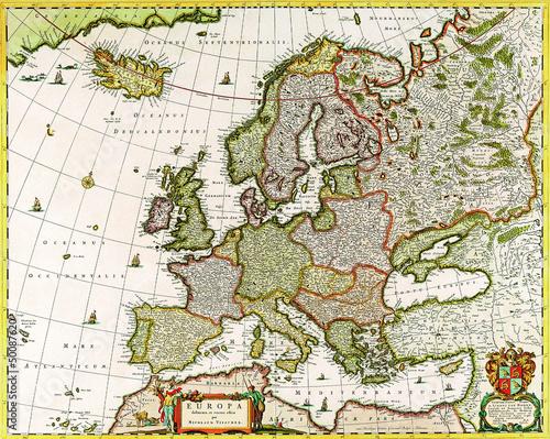 stara-mapa-europy-1640