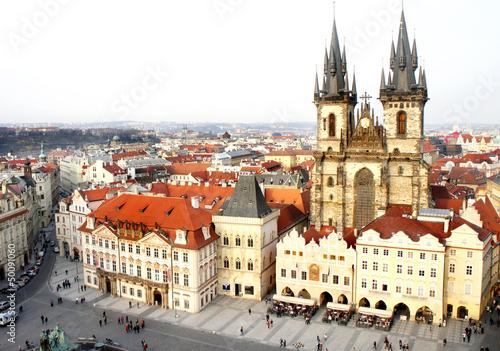 Staande foto Praag Old Town Square, Prague, Czech republic