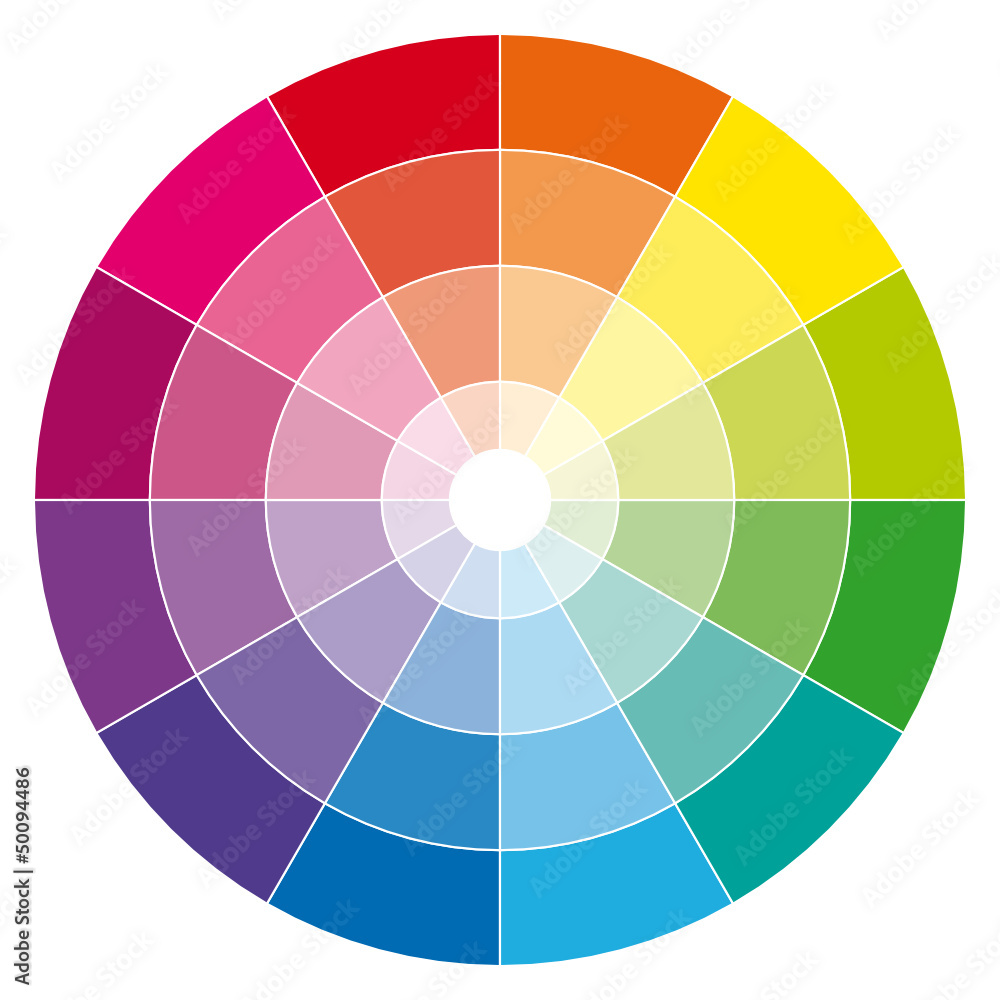 Fototapeta Color wheel.