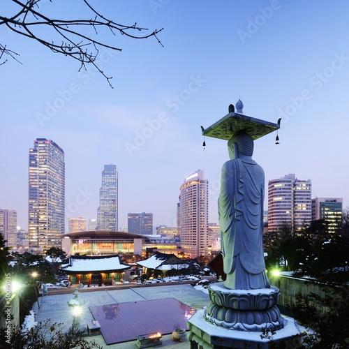 Photo sur Aluminium Seoul Gangnam Seoul, South Korea
