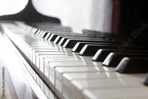 Fototapeta klawisze pianina