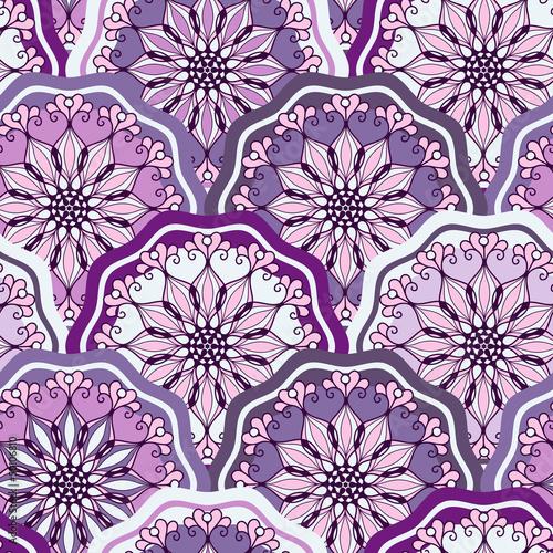 Fotobehang Kunstmatig Vintage seamless pattern