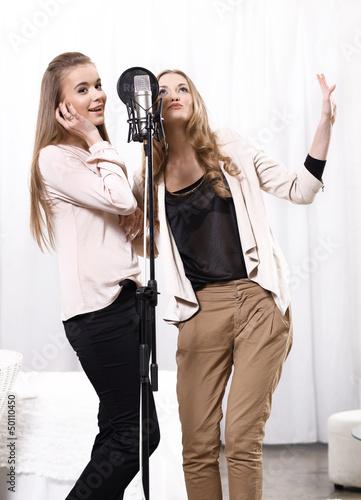 Leinwand Poster duet
