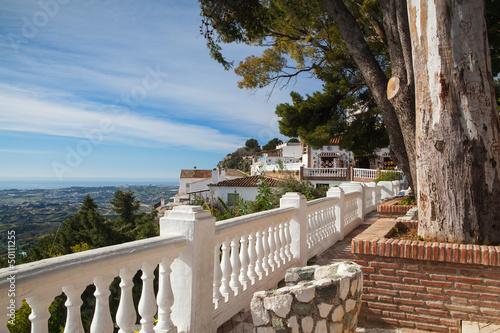 Fototapeta View of the Mijas city in Spain