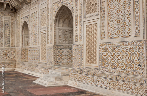 Fotografering  Mughal tomb (I'timad-ud-Daulah) in Agra, India