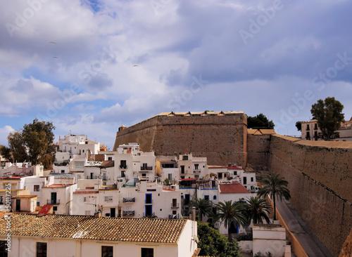 Foto op Plexiglas Marokko Ibiza Town, Balearic Islands, Spain
