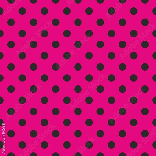 bezszwowe-wektor-wzor-czarne-kropki-rozowe-tlo