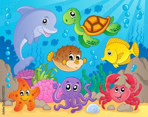 Podwodne zwierzątka