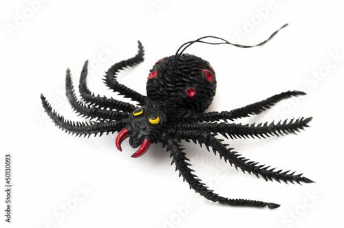 Fotobehang Draw black spider
