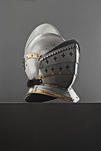 Old-fashioned Knight's Helmet