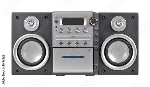 Fotografía  Compact stereo system