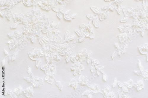 Valokuva  White wedding lace