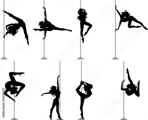Fotografia, Obraz  Pole Dance