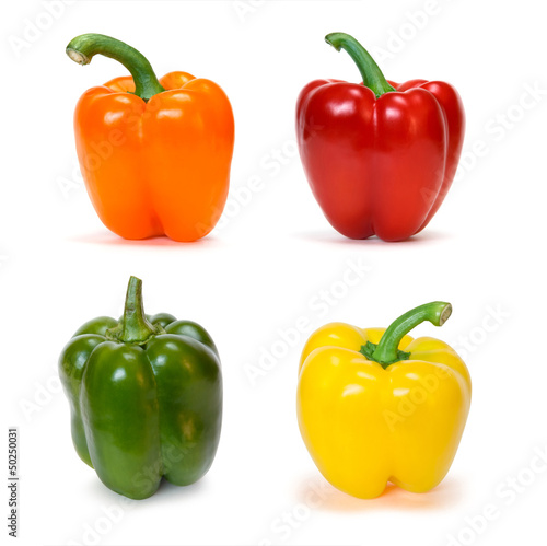 Fotografie, Obraz  set of bell peppers