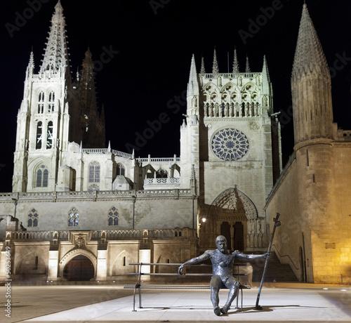Plaza de la Catedral de Burgos