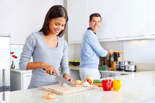Poster Cuisine healthy food cook
