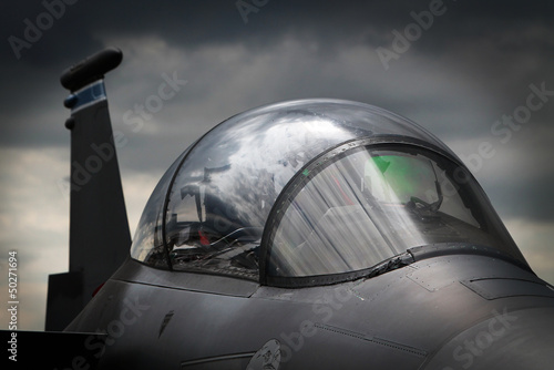 obraz PCV Wojskowy myśliwiec
