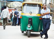 Indian Auto Rickshaw Tut-tuk D...