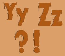 Part Of The Alphabet
