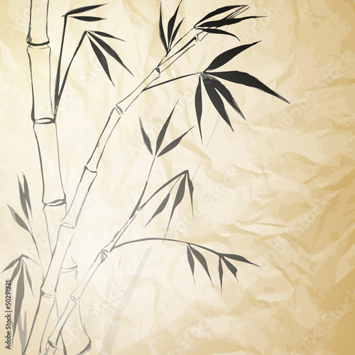 grunge-barwiony-papier-bambusowy