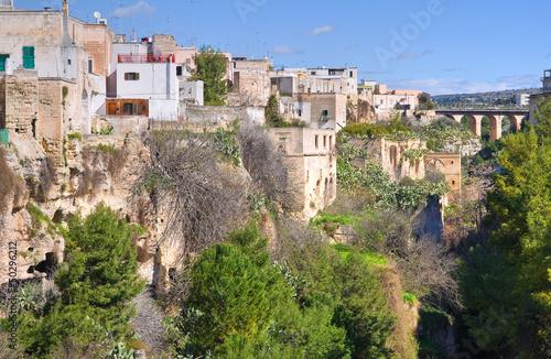 Fotografie, Tablou Panoramic view of Massafra. Puglia. Italy.