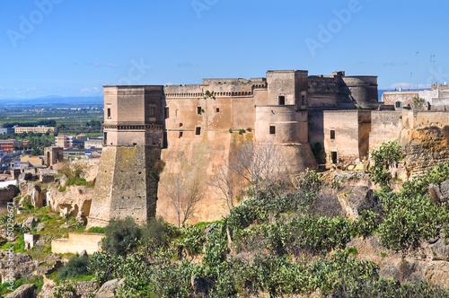 Castle of Massafra. Puglia. Italy. Fototapet