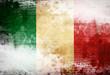 canvas print picture - Italian flag