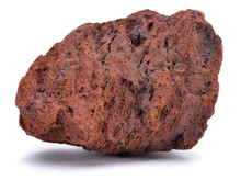Natural Sample Of Iron Ore Iso...