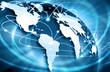 canvas print picture - Best Internet Concept of global business from concepts series