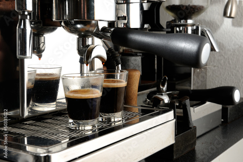 Fotografie, Obraz  espresso- equipment
