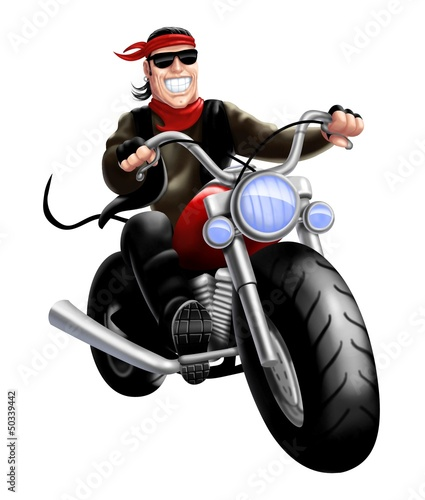 Poster Motorcycle bikers