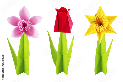 Origami flowers set buy this stock photo and explore similar origami flowers set mightylinksfo