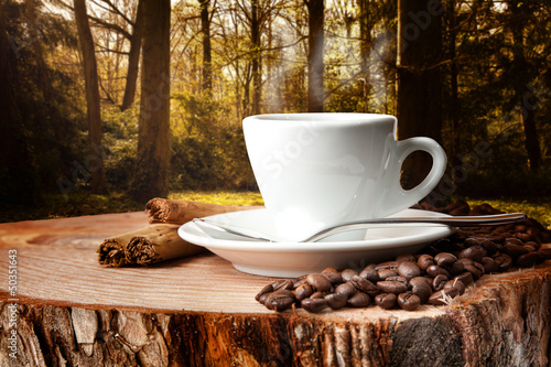 Tuinposter koffiebar pausa caffè