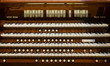 canvas print picture - Pipe Organ