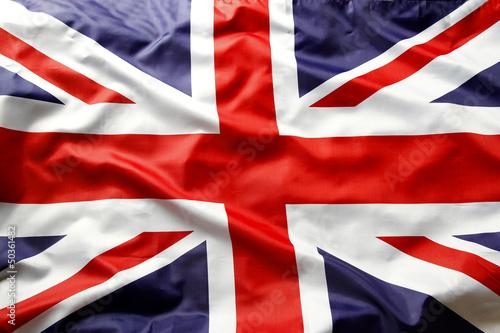 Union Jack flag Fototapet
